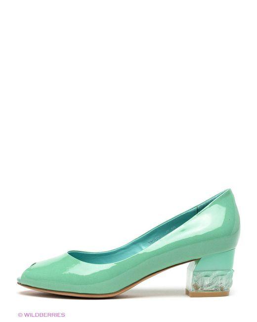 Туфли Renaissance                                                                                                              зелёный цвет
