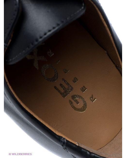 Туфли Geox                                                                                                              чёрный цвет