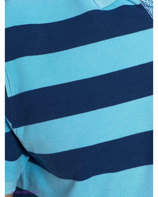Поло Men of all nations                                                                                                              синий цвет