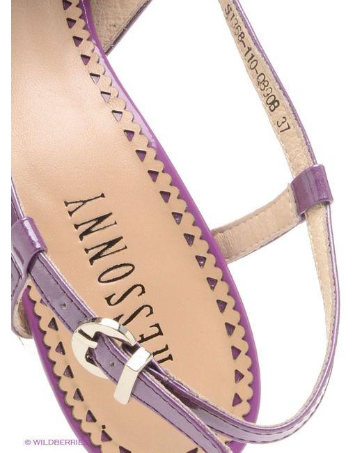 Босоножки RESSONNY                                                                                                              фиолетовый цвет