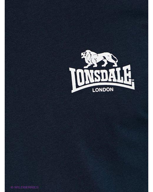 Футболки Lonsdale                                                                                                              синий цвет