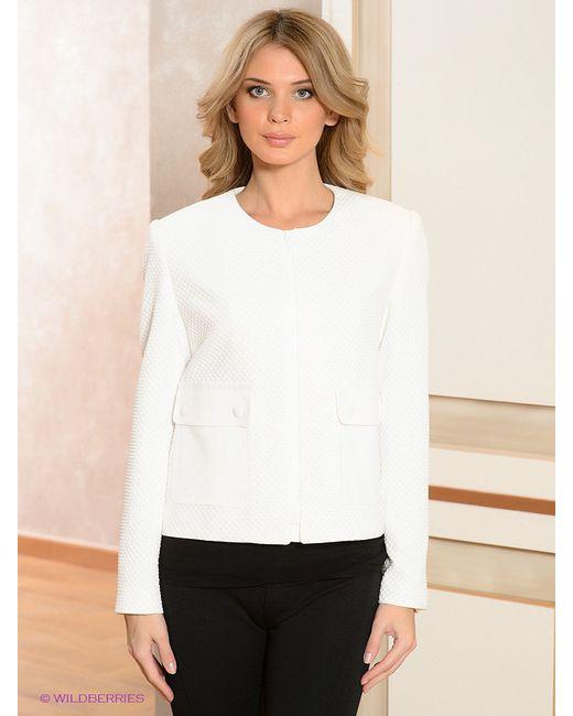 Жакеты Zendra                                                                                                              белый цвет
