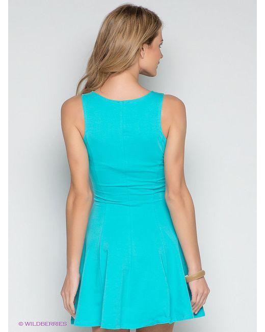 Платья Incity                                                                                                              голубой цвет