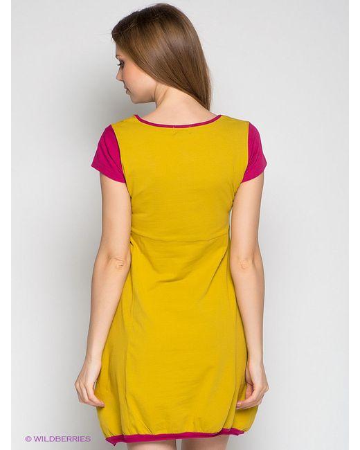 Платья Coline                                                                                                              Горчичный цвет