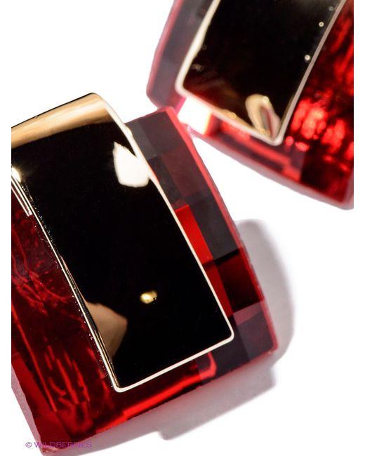 Серьги Selena                                                                                                              красный цвет