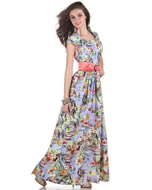 Платья Olivegrey                                                                                                              фиолетовый цвет