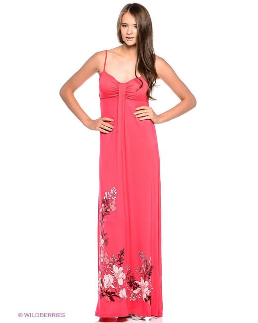 Сарафаны Sela                                                                                                              розовый цвет