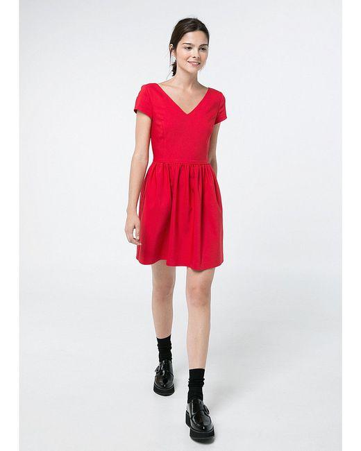 Платья Mango                                                                                                              красный цвет
