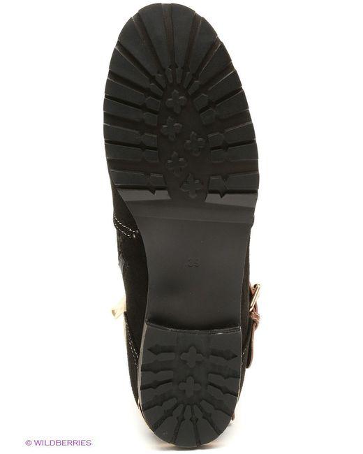 Полусапожки Elche                                                                                                              чёрный цвет