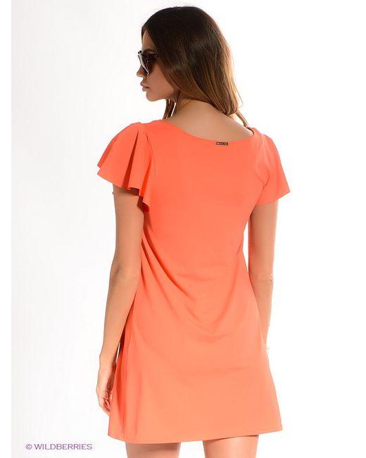Платья Michael Kors                                                                                                              оранжевый цвет