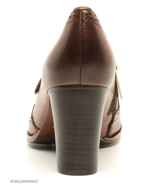 Туфли Sinta Gamma                                                                                                              коричневый цвет