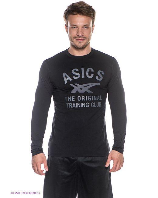 Лонгслив Asics                                                                                                              чёрный цвет