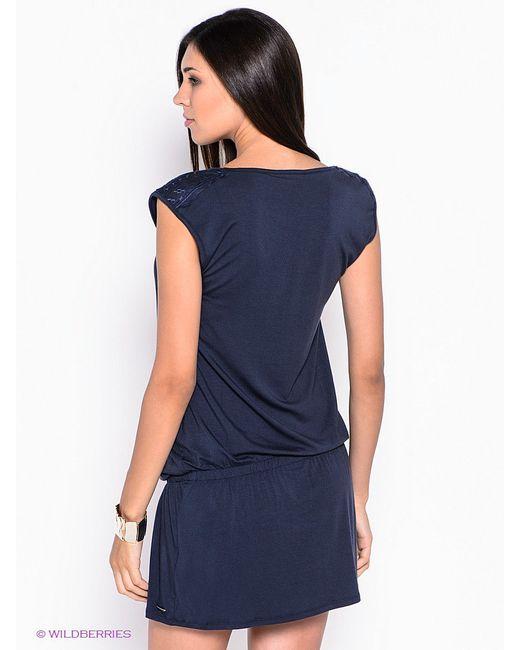 Платья Esprit                                                                                                              синий цвет
