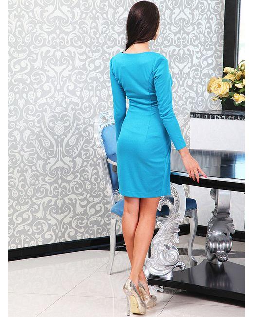 Платья Lussotico                                                                                                              Бирюзовый цвет