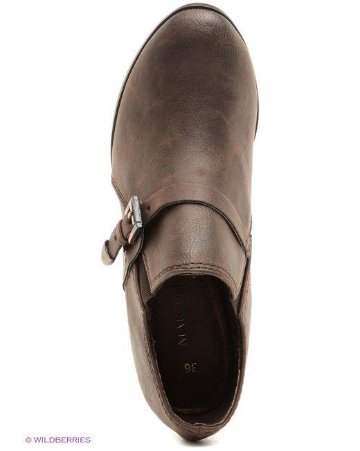 Ботильоны Marco Tozzi                                                                                                              коричневый цвет