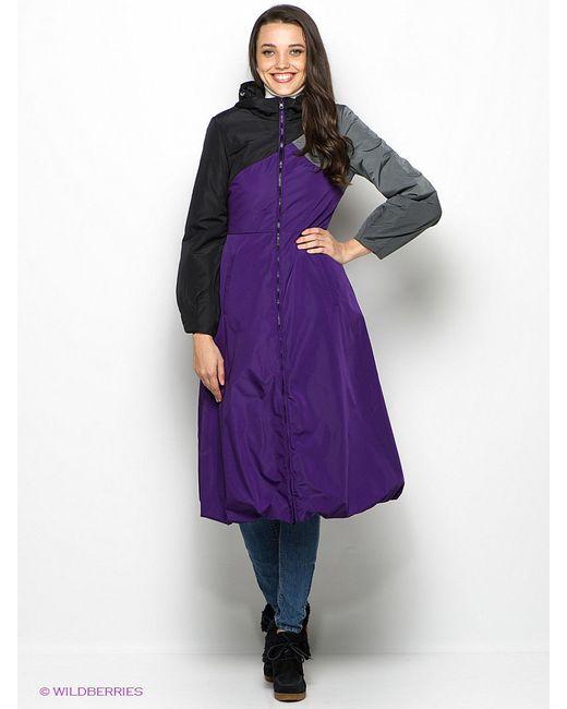 Пальто Doctor E                                                                                                              фиолетовый цвет