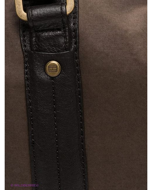 Сумки Tommy Hilfiger                                                                                                              коричневый цвет
