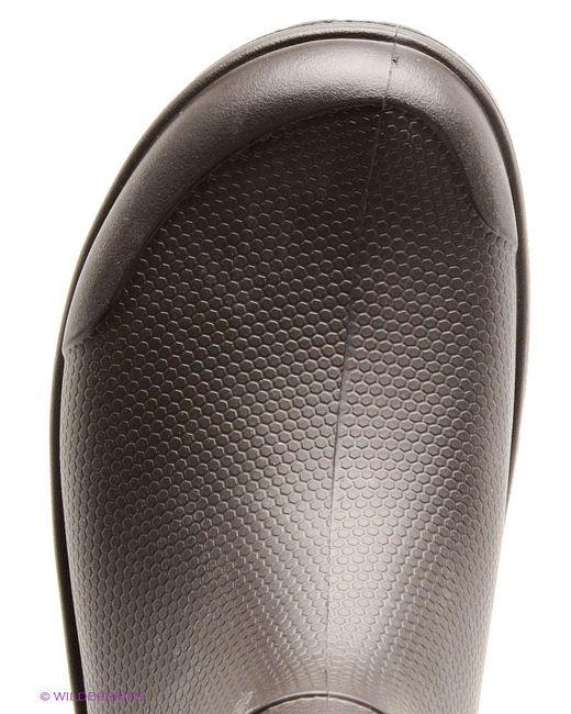 Сапоги Crocs                                                                                                              коричневый цвет