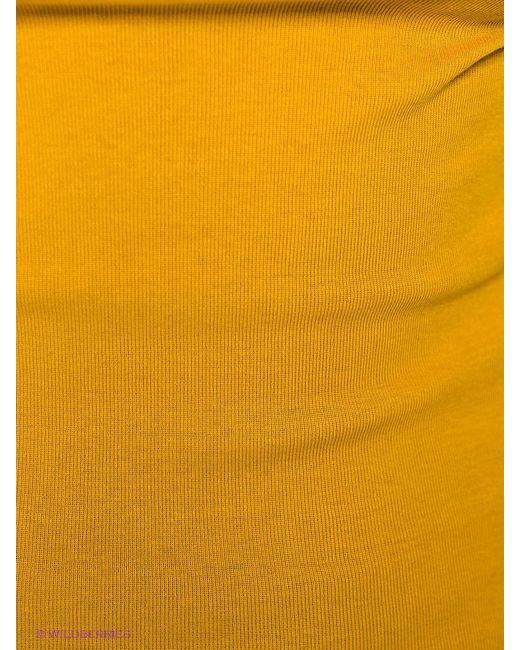 Футболка QUIOSQUE                                                                                                              Горчичный цвет