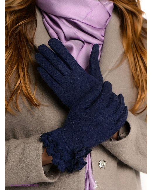 Перчатки Labbra                                                                                                              синий цвет