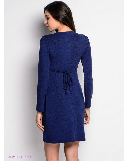 Платья Фэст Фэст                                                                                                              синий цвет