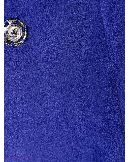 Пальто Pompa                                                                                                              фиолетовый цвет