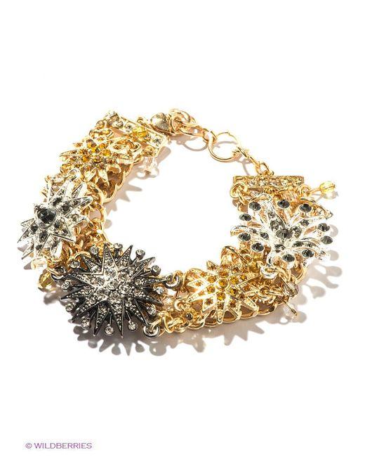 Браслеты Milana Style                                                                                                              Золотистый, Серебристый цвет