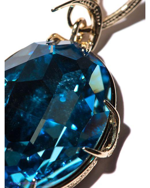 Серьги Jenavi                                                                                                              голубой цвет