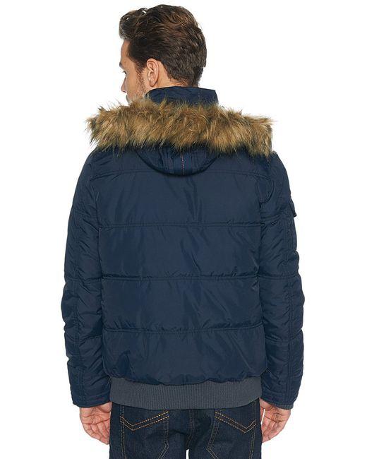 Куртки TOM TAILOR                                                                                                              синий цвет