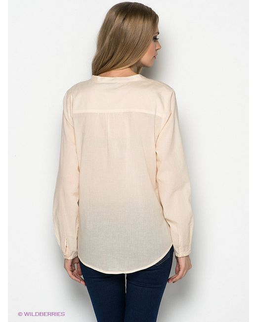 Блузки Selected                                                                                                              Персиковый цвет