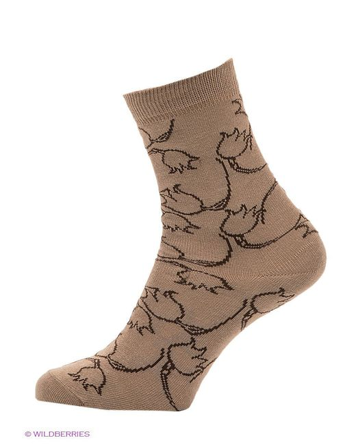 Носки Skinija                                                                                                              бежевый цвет