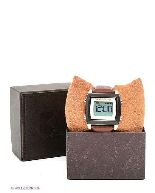 Часы Hugo                                                                                                              коричневый цвет