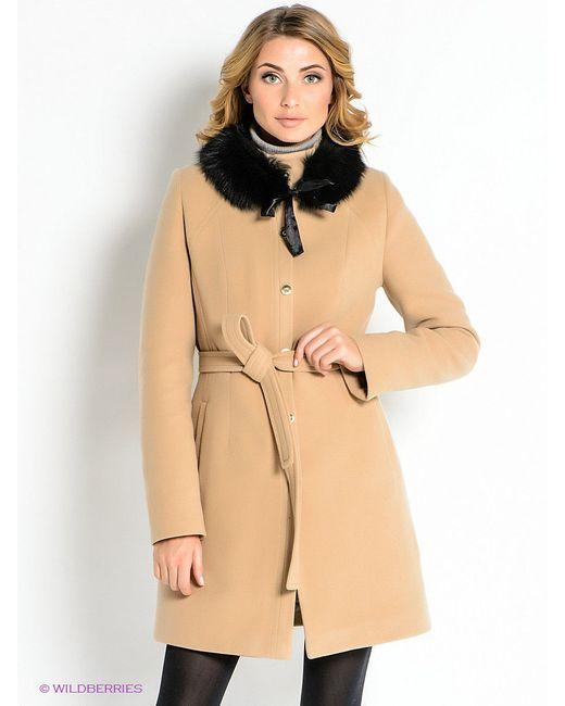 Пальто Klimini                                                                                                              бежевый цвет