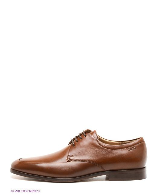 Туфли Ecco                                                                                                              коричневый цвет
