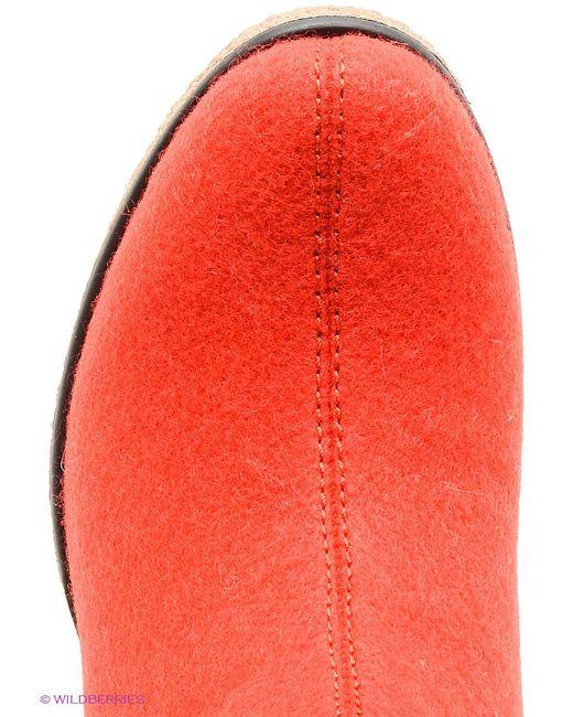 Валенки Cooper                                                                                                              красный цвет