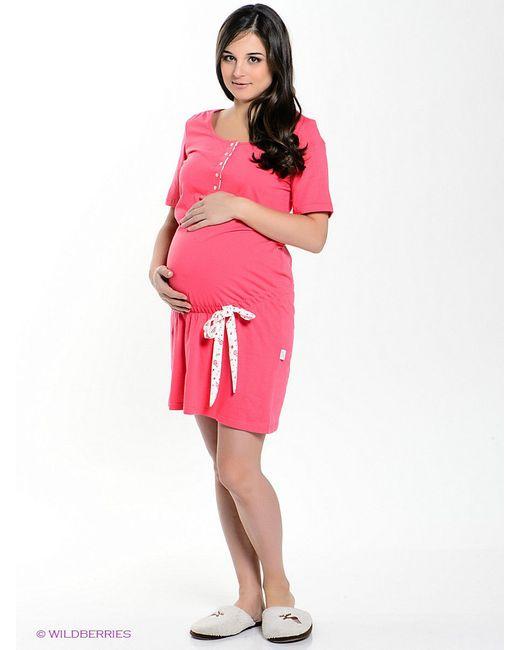 Платья Hunny Mammy                                                                                                              красный цвет