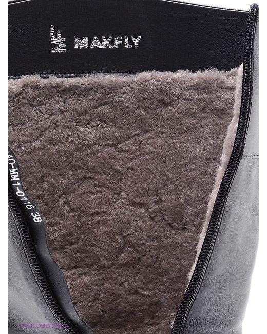 Сапоги Makfly                                                                                                              чёрный цвет