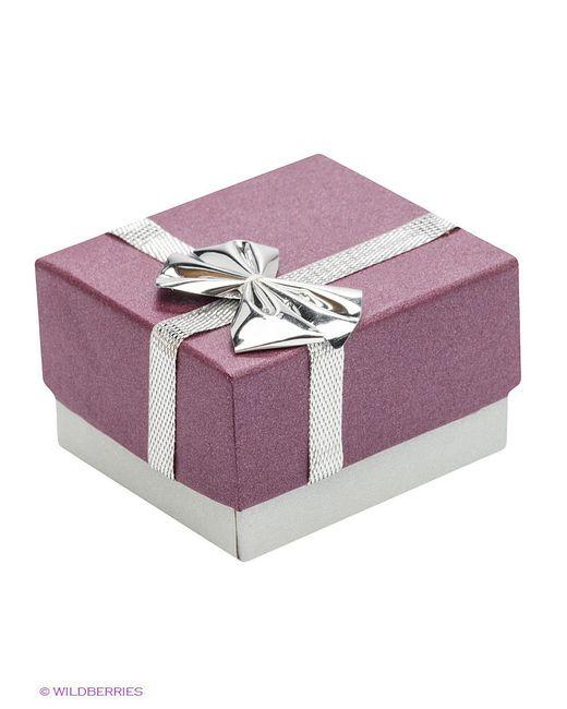 Ювелирные Серьги Happy Garnets                                                                                                              серебристый цвет