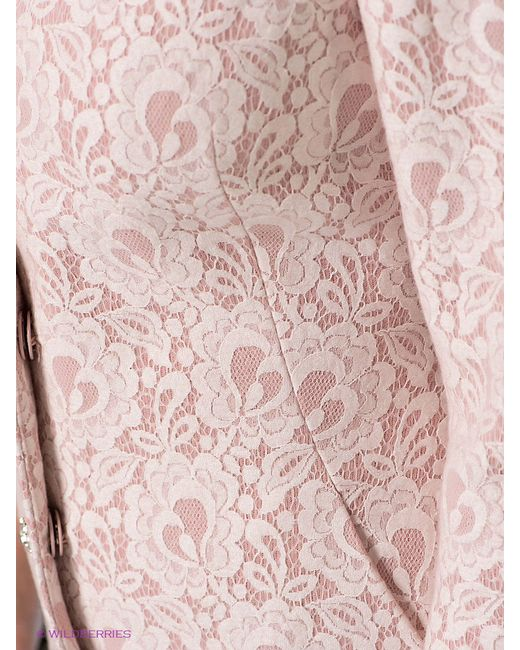 Пальто Love Republic                                                                                                              розовый цвет