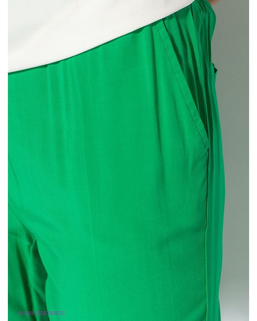 Брюки Baon                                                                                                              зелёный цвет