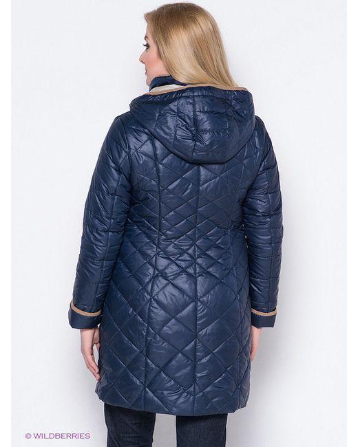 Пальто Vlasta                                                                                                              синий цвет