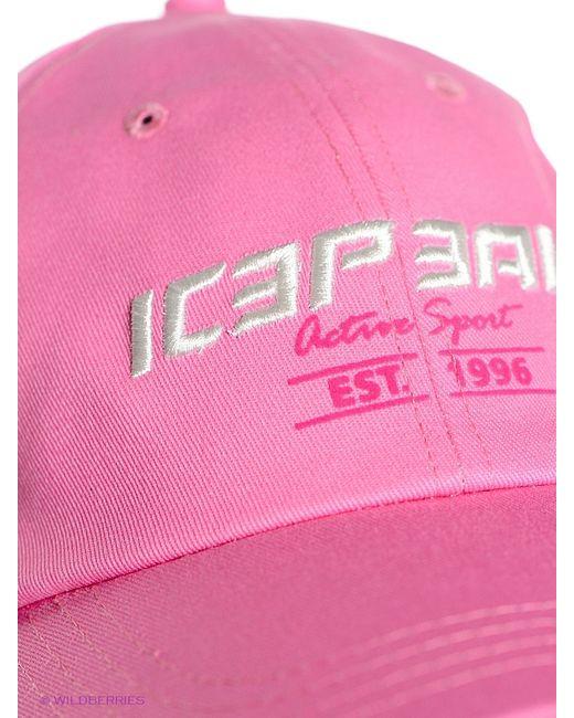 Бейсболки Icepeak                                                                                                              розовый цвет