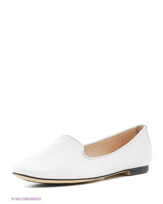 Балетки Keddo                                                                                                              белый цвет