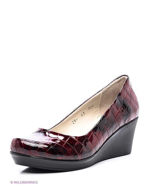 Туфли DAKKEM                                                                                                              красный цвет