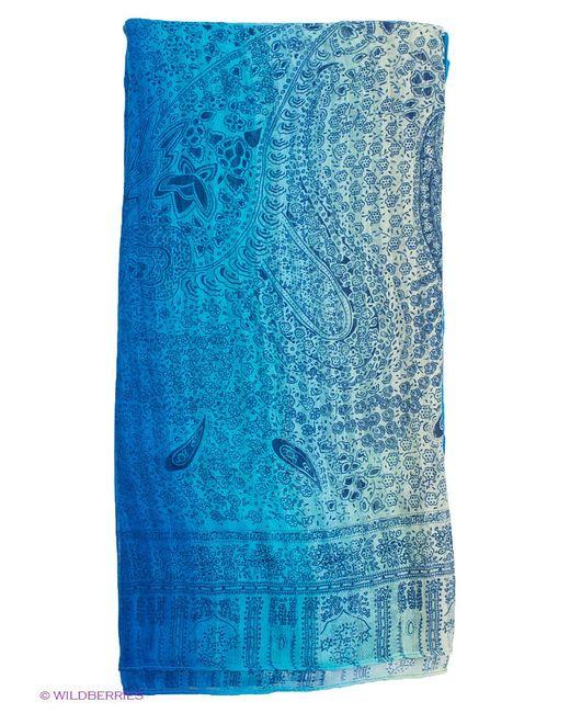 Палантины Модные истории                                                                                                              голубой цвет