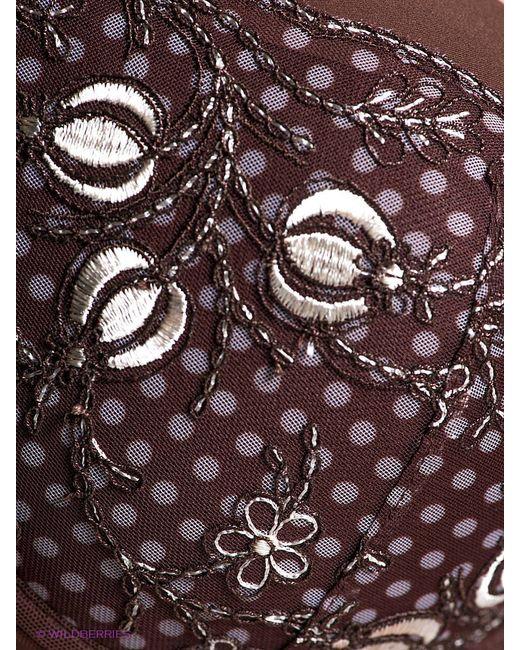 Бюстгальтеры Milavitsa                                                                                                              коричневый цвет
