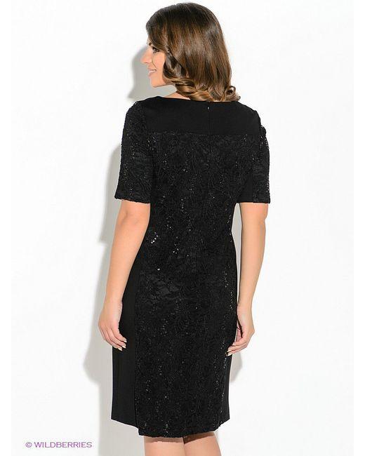 Платья VERA MONT                                                                                                              чёрный цвет