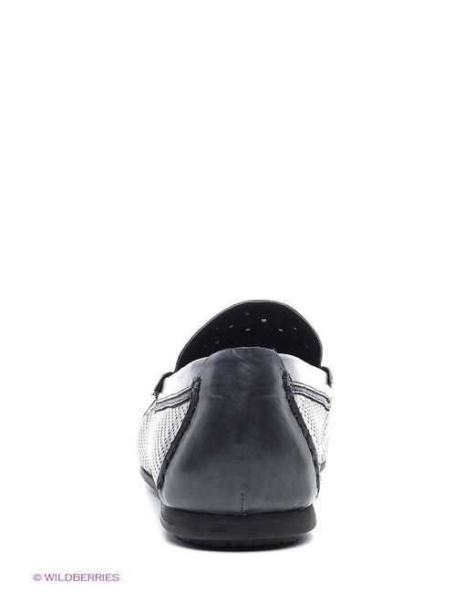 Мокасины Mario Ponti                                                                                                              чёрный цвет