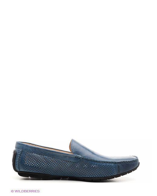 Мокасины El Tempo                                                                                                              синий цвет