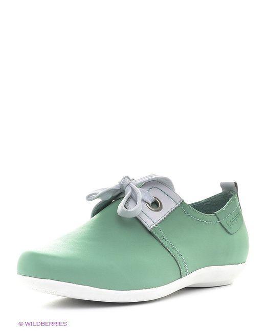 Ботинки Cooper                                                                                                              зелёный цвет